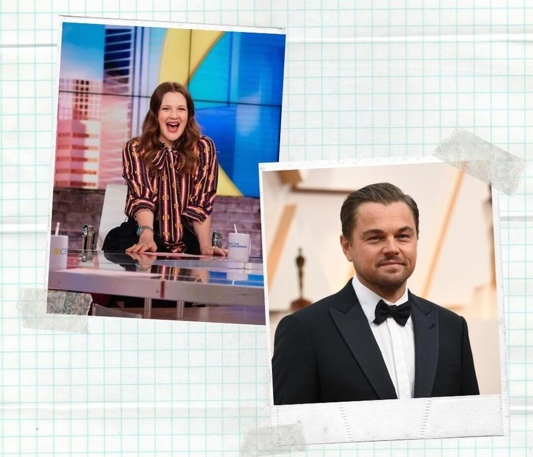 Ηot : Απροκάλυπτο φλερτ της Drew Barrymore στον Leonardo DiCaprio