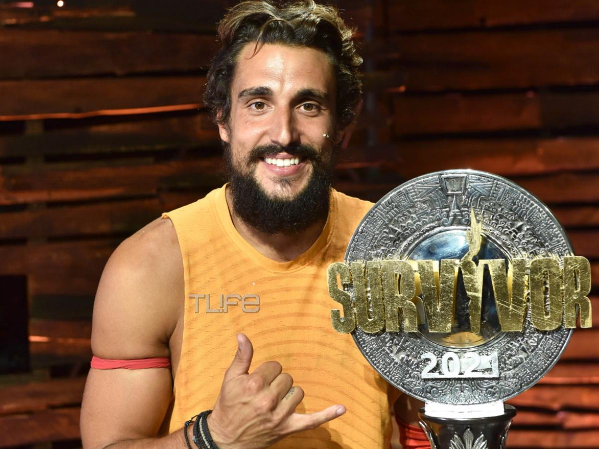 Survivor 2021:  Ο νικητής του μεγάλου τελικού ο Σάκης Κατσούλης